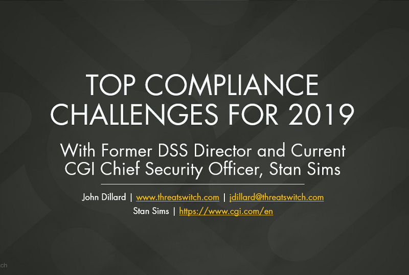 Top Compliance Challenges for 2019