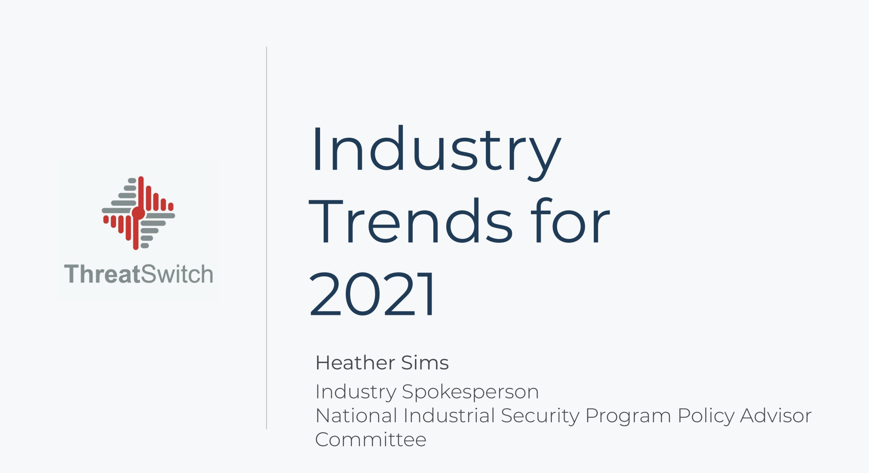 Industry Trends for 2021